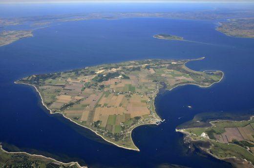 Flyfoto af Fur taget i 2008