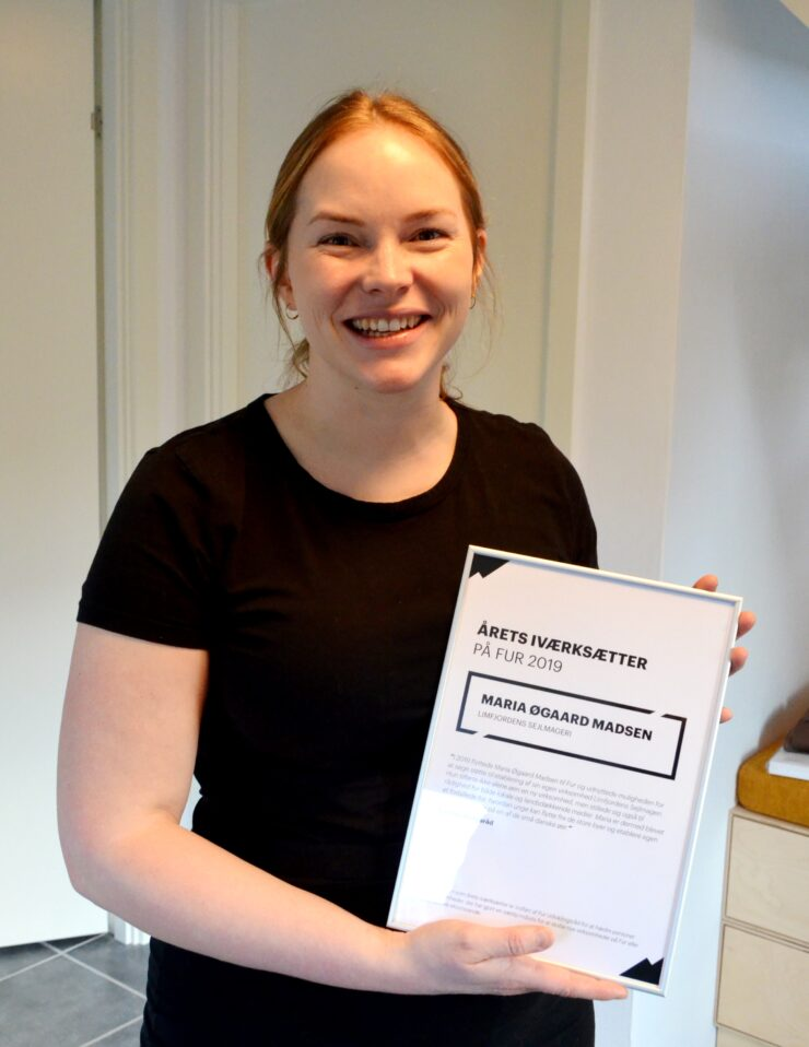 Sejlmager Maria Øgaard Madsen